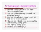 Tự tương quan (Autocorrelation)