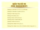 Bài giảng Quản trị rủi ro (Risk Management)