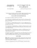 Quyết định số 2332/QĐ-UBND