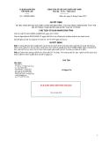 Quyết định số 1182/QĐ-UBND