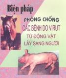 Biện pháp phòng chống các bệnh do virut từ động vật lây sang người
