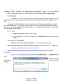 Hướng Dẫn Cài Đặt Và Sử Dụng Wordpress Chạy Trên Localhost