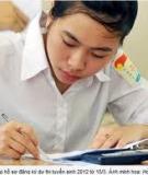 Đề thi và đáp án đề thi tuyển sinh đại học năm 2012 môn Tiếng Anh khối A1 - Mã đề 794