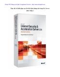 Thực thi và khắc phục sự cố triển khai chứng chỉ trong ISA Server 2006