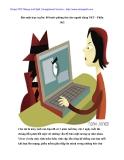Bảo mật trực tuyến: 80 bước phòng thủ cho người dùng NET