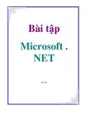 Bài tập Microsoft . NET