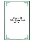 Tài liệu QTKD NHTM - Chuyên đề Phân tích tài chính NHTM