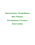Intracoronary Streptokinase after Primary Percutaneous Coronary Intervention