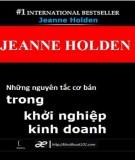 Những nguyên tắc cơ bản trong khởi nghiệp kinh doanh - Jeanne Holden