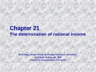 Chapter: Aggregate demand, fiscal policy, and foreign trade