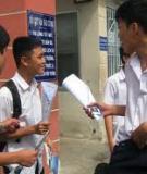 Đề thi tuyển sinh Đại học khối C môn Văn năm 2012 (có đáp án)