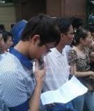 Đề thi tuyển sinh Đại học khối D năm 2012 môn Văn (có đáp án)