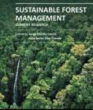 SUSTAINABLE FOREST MANAGEMENT – CURRENT RESEARCH
