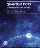 QUANTUM DOTS – A VARIETY OF NEW APPLICATIONS