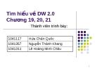 Tìm hiểu về DW 2.0