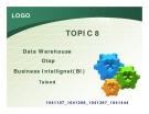 Data warehouse - OLAP - Business Intellignet(BI)