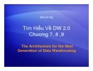 Tìm Hiểu Về DW 2.0 Chương 7, 8 ,9
