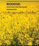 BIODIESEL – FEEDSTOCKS AND PROCESSING TECHNOLOGIES