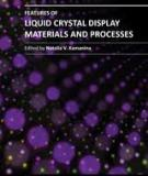 FEATURES OF LIQUID CRYSTAL DISPLAY MATERIALS AND PROCESSES