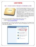 Cài đặt Ubuntu trên máy ảo WMware Player