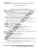 Phân loại và phương pháp giải bài tập Vật lớp 12