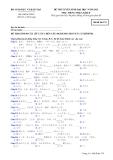 Đề thi và đáp án đề thi tuyển sinh đại học năm 2012 môn Tiếng Nhật khối D- Mã đề 374