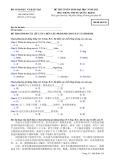 Đề thi và đáp án đề thi tuyển sinh đại học năm 2012 môn Tiếng Trung khối D- Mã đề 138