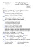 Đề thi và đáp án đề thi tuyển sinh đại học năm 2012 môn Tiếng Đức khối D- Mã đề 417