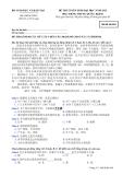 Đề thi và đáp án đề thi tuyển sinh đại học năm 2012 môn Tiếng Trung khối D- Mã đề 864