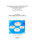 Giáo trình Công nghệ may trang phục 2 - ThS. Trần Thanh Hương