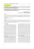 Các nhân tố ảnh hưởng đến cấu trúc tài chính của doanh nghiệp chế biến thủy sản Khánh Hòa