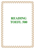 READING TOEFL 500