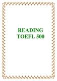 READING TOEFL 500