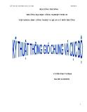 Luận văn: Hệ thống thông gió chung và cục bộ