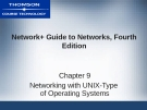 NETWORK+ GUIDE TO  NETWORKS, FOURTH  EDITION - CHAPTER 9