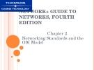 NETWORK+ GUIDE TO  NETWORKS, FOURTH  EDITION - CHAPTER 2