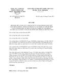 QUY CHẾ PHỐI HỢP SỐ 1853/QCPH-TCCSPCTPBHXHVN