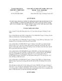 Quyết định số 07/2012/QĐ-UBND