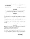 Quyết định số  52/QĐ-BCĐBV&PTR