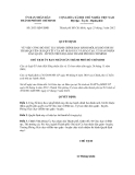 Quyết định số 2633/QĐ-UBND