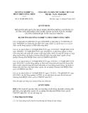Quyết định số  1110/QĐ-BNN-TCTL