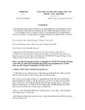 Nghị định số 46/2012/NĐ-CP