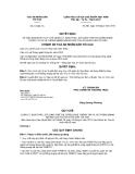 Quyết định số 15/QĐ-TA