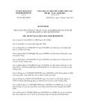 Quyết định số 981/QĐ-UBND