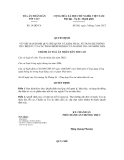 Quyết định số 14/QĐ-TA