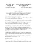 Thông tư liên tịch số 90/2012/TTLT-BTC-TTCP