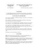 Quyết định số 377/QĐ-UBND