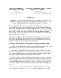 Thông báo số  2360/TB-BNN-VP