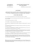 Quyết định số 07/2012/QĐ-UBNDCỘNG HÒA XÃ HỘI CHỦ