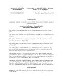 Nghị quyết  269/2012/NQ-HĐND13CỘNG HÒA XÃ
